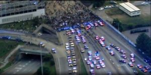 Protests-around-country-7-9-16-protesters-block-interstate